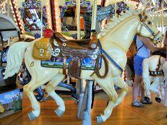 National Carousel Association - Riverfront Park Carousel - Outside Row Jumper