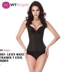 1d3b26c4e25 Introducing the latest 9-Steel Boned Latex Waist Trainer. Now you can  easily tone