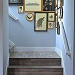 Gallery Wall · Creative Home Decor Inspiration · Wall Art · Eclectic · Staircase Style At Home, Inspiration Wand, Interior And Exterior, Interior Design, Stairways, Architecture, My Dream Home, Sweet Home, New Homes