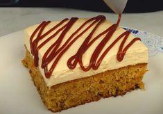 Αφράτο Κέικ καρότου! Η κρέμα γάλακτος κάνει την διαφορά. Carrot Cake, Vanilla Cake, Carrots, Cheesecake, Desserts, Food, Cakes, Tailgate Desserts, Carrot Cakes