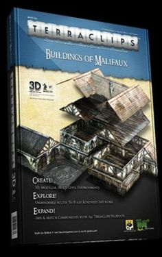 Buildings of Malifaux 3D Terraclips by Wyrd Miniatures. $38.97. Buildings of Malifaux 3D Terraclips by Wyrd Miniatures. Clips Sold Seperatly. WYRTC102 Buildings of Malifaux 3D Terraclips by Wyrd Miniatures TerraClips is a 3D, modular terrain system which allows gamers to create expansive, multi-level layouts on-the-fly. Simply punch out the durable components, clip them together using the TerraClips system, and play! Exquisitely detailed textures created by awar...