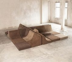 25 pc Modular 'Pool', Luxury Seating Landscape by Luigi Colani |at http://www.1stdibs.com/furniture/seating/sectional-sofas/