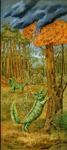 El Gato Helecho, 1957. – Remedios Varo Remedios Varo