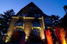 FIESTA ARGENTINA am 8. September 2012 im Garten der Villa Klein in Johannisberg / Rheingau. Die 1910/11 erbaute Industriellenvilla beeindruckte die Gäste mit seinen Jugendstildekoren der Fassade. (Foto: Theresa Rundel)