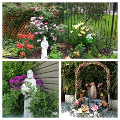 Here are a few entries uploaded to our Catholic garden # design # . Small Plants, Cool Plants, Marian Garden, Small Water Gardens, Lotus Garden, Prayer Garden, Drought Tolerant Garden, Garden Deco, Beautiful Flowers Garden