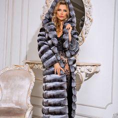 Chinchilla Fur Coat, Furs, Winter Jackets, Passion, Lady, Beautiful, Fur, Winter Coats, Winter Vest Outfits