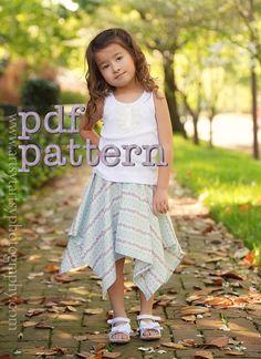 Handkerchief Skirt Pattern