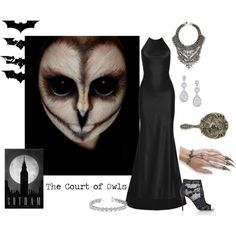 The Court of Owls by vveave-silk on Polyvore featuring Calvin Klein Collection, Valentino, DYLANLEX and Allurez