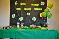 marriage, motherhood, and ministry: A Teenage Mutant Ninja Turtle Birthday Party