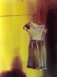 """Saatchi Online Artist: Michael Newton; Oil, 2013, Painting """"Hang"""""""