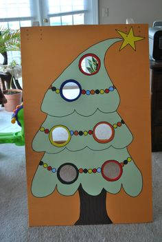 Christmas tree toss game!