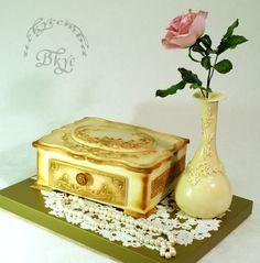 """Торт на юбилей """"Жемчуг"""""""