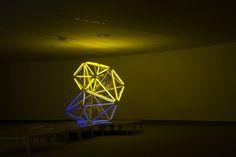«Los territorios soñados», exposición de Carlos Coronas en el Centro Cultural Niemeyer de Avilés #arte #art #luz #light