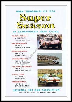 1970 NHRA Drag Racing