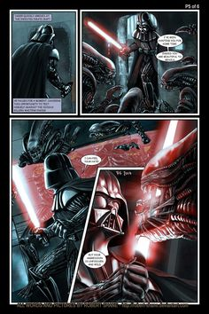 Star Wars vs Aliens - short story - Page 5 of 6 by Robert-Shane on deviantART
