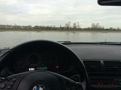 Trip to Düsseldorf parking at the water ;)