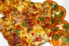 Jauhelihapannari. Helppoa ja helposti muokattava kevyemmäksi Lasagna, Quiche, Food And Drink, Pizza, Cheese, Cooking, Breakfast, Ethnic Recipes, Kitchen