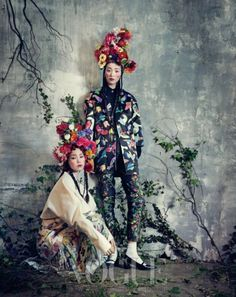 See the World Through Pattern and Colour, Vogue Korea, February 2013 #Fashion