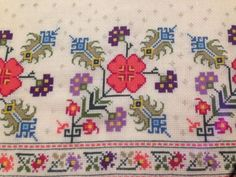 Cross Stitch Borders, Bob Ross, Old And New, Kids Rugs, Quilts, Embroidery, Blanket, Cross Stitch Embroidery, Towels