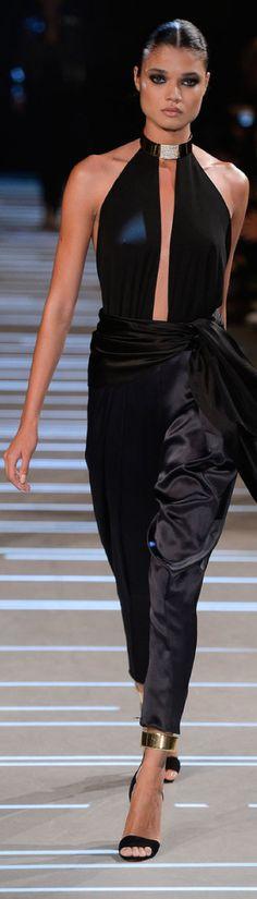 Alexandre Vauthier S/S 2013 | Black & Gold | Fashion