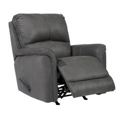 Nothing says it's time to cozy up with a good book like a comfy, gray chaise recliner. Rankia Rocker Recliner | Weekends Only Furniture and Mattress