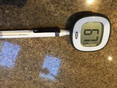Saving us from Salmonella for the last 2 years is our digital meat thermometer. Can't live without this one!