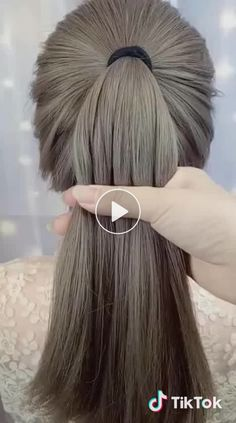 Papiya Mondal kişisine ait ♬ original sound - kısa video in 2020 Ponytail Hairstyles Tutorial, Bun Hairstyles For Long Hair, Classic Hairstyles, Fast Hairstyles, Short Hairstyles For Women, Braided Hairstyles, Trending Hairstyles, Long Hair Dos, Curly Hair Styles