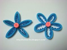 Lin Handmade Greetings Card: Tiny loops flower - Part 2 Quilling Comb, Neli Quilling, Quilling Jewelry, Quilling Cards, Quilling Videos, Quilling Techniques, Quilled Roses, Quilling Flowers, Greeting Cards Handmade