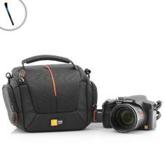 Bundle: 2 items – Durable Protective Digital Camera Bag for Olympus OM-D EM-5 , PEN E-PL1 , PEN E-PL5 and Many More Digital Cameras! ** Includes Lens and Camera Brush! ** Review
