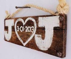 outside bridal shower ideas | Wedding Sign Wood Custom Wedding Decor Beach Wedding Outdoor ...