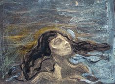 Edvard Munch, On the Waves of Love. See The Virtual Artist gallery: www.theartistobjective.com/gallery/index.html