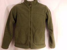 Patagonia Fleece Synchilla Hunter Green Full Zip Vintage Womens XS #Patagonia #FleeceJacket