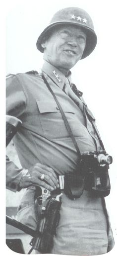 Lieutenant General George Patton, 1943-1945 (my all-time favorite picture of this great man!)