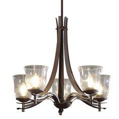 Kichler Lighting Transitional 5-light Olde Bronze Chandelier - Overstock™ Shopping - Great Deals on Kichler Lighting Chandeliers & Pendants