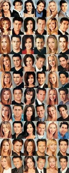 Friends cast season 1-10
