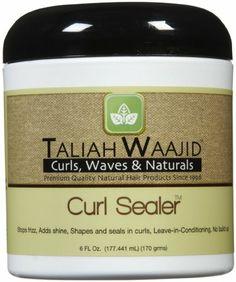 Amazon.com: Taliah Waajid Curl Sealer: Beauty