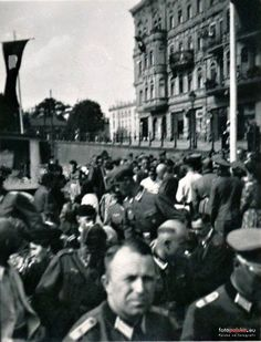 Plac Teatralny 2 - Stary Port 1-3 (Kaufhaus Hohenzollern), Bydgoszcz - 1942 rok…
