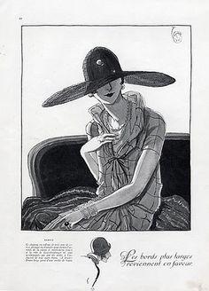 Caroline Reboux (Millinery) 1925 Woodruff Porter
