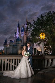 Katy and Matthew's Whimsical Walt Disney World Wedding - This Fairy Tale Life Perfect Wedding Dress, Dream Wedding Dresses, Designer Wedding Dresses, Disney World Wedding, Walt Disney World, Cute Wedding Ideas, Wedding Pics, Fairytale Weddings, Bridal Gowns