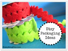 Etsy Packaging Ideas...lots of them!
