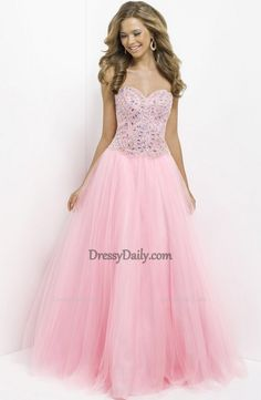 I like this - Ball Gown Sweetheart Tulle with Beading and Sequins Pink Prom Dress. Do you think I should buy it?