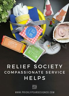 Relief Society Compassionate Service Helps –