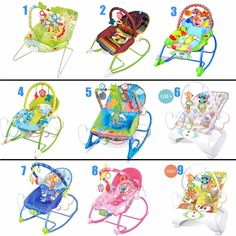Baby Rocker Bouncer Reclining Chair Soothing Music Viberation with Toys 0 Month+  sc 1 st  Pinterest & Baby Bouncer Rocker Reclining Chair Soothing Music Vibration Toys ... islam-shia.org