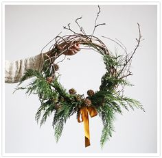 Birds Nest Wreath by Amy Merrick (http://www.amymerrick.bigcartel.com/product/birds-nest-wreath)