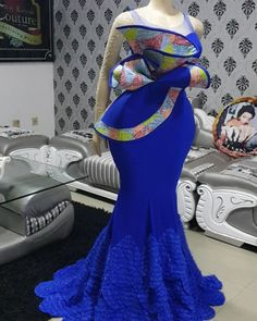African Wedding Attire, African Attire, African Wear, African Dress, African Fashion Ankara, Latest African Fashion Dresses, African Print Fashion, African Lace Styles, African Prom Dresses