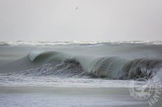 Slurpee Waves -- A whole series of photos of partially frozen waves taken by Jonathan Nimerfroh on Nantucket. They are available for purchase on this website.