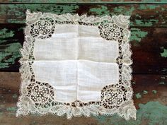 Vintage Antique Victorian Wedding Bridal Handkerchief Honiton Needle Lace by Holliezhobbiez on Etsy https://www.etsy.com/listing/215991532/vintage-antique-victorian-wedding-bridal