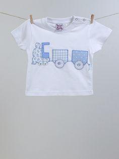 #camiseta #bebé #pesonalizada  #trenecito