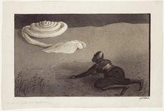 Alfred Kubin  Das letzte Abenteuer, um 1901 Tusche, Feder, Aquarell, Spritztechnik auf Katasterpapier 24,8 x 36,7 cm  Leopold Museum, Wien, © 2012 ProLitteris, Zürich