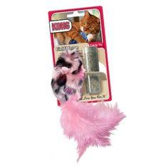 Kong Field Mouse es un juguete en forma de ratón fabricado con tela de peluche para gatos de todas las edades, es muy suave, cómodo y muy di...